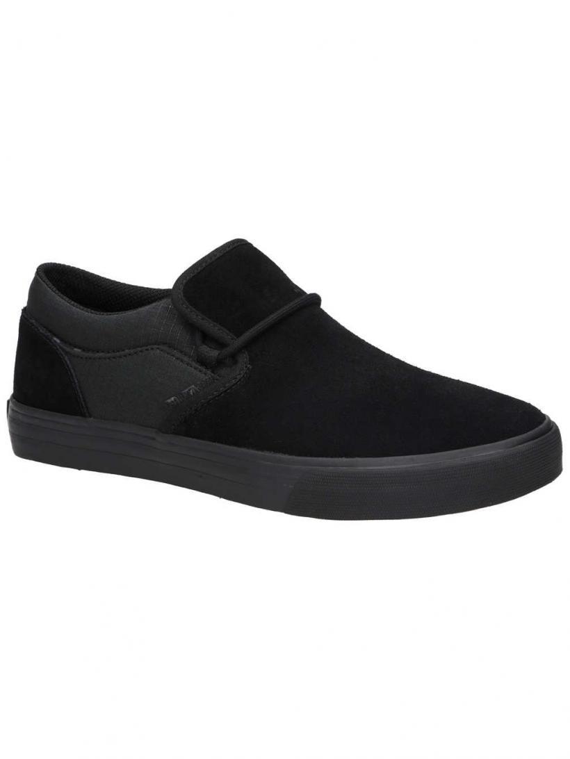 Supra Cuba Black/Black/Camo | Mens Skate Shoes