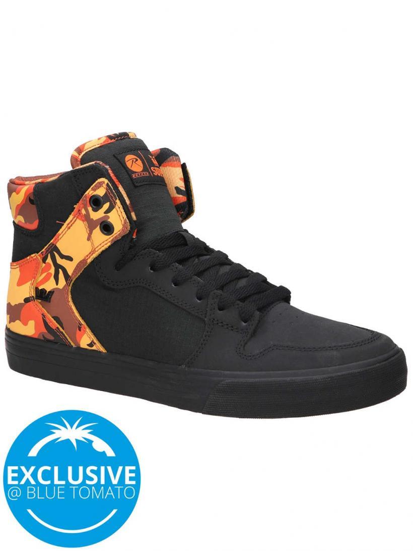 Supra X Rothco Vaider Black Savage   Mens Sneakers