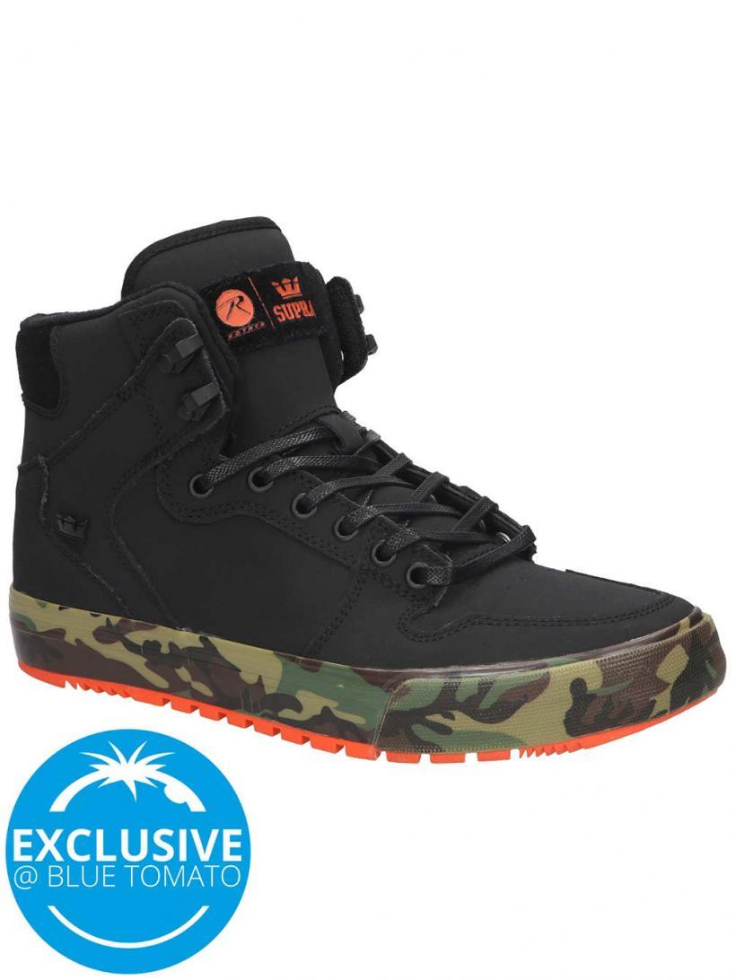 Supra X Rothco Vaider CW Black Woodland   Mens Winter Shoes