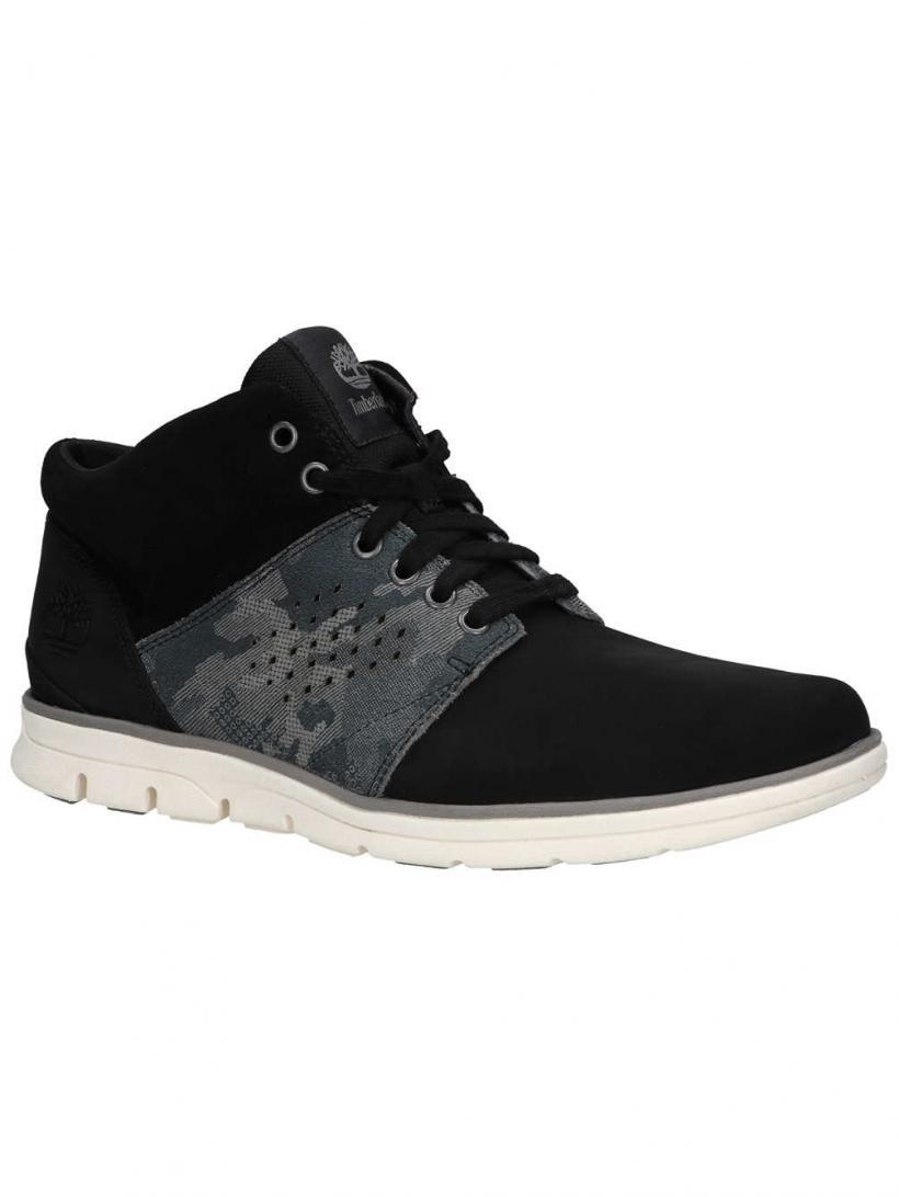 Timberland Bradstreet Half Cab Black Nubuck | Mens Winter Shoes