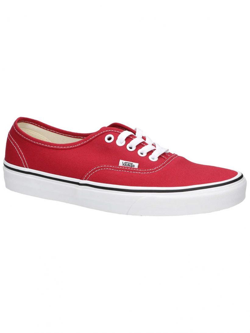Vans Authentic Crimson/True White | Mens Sneakers