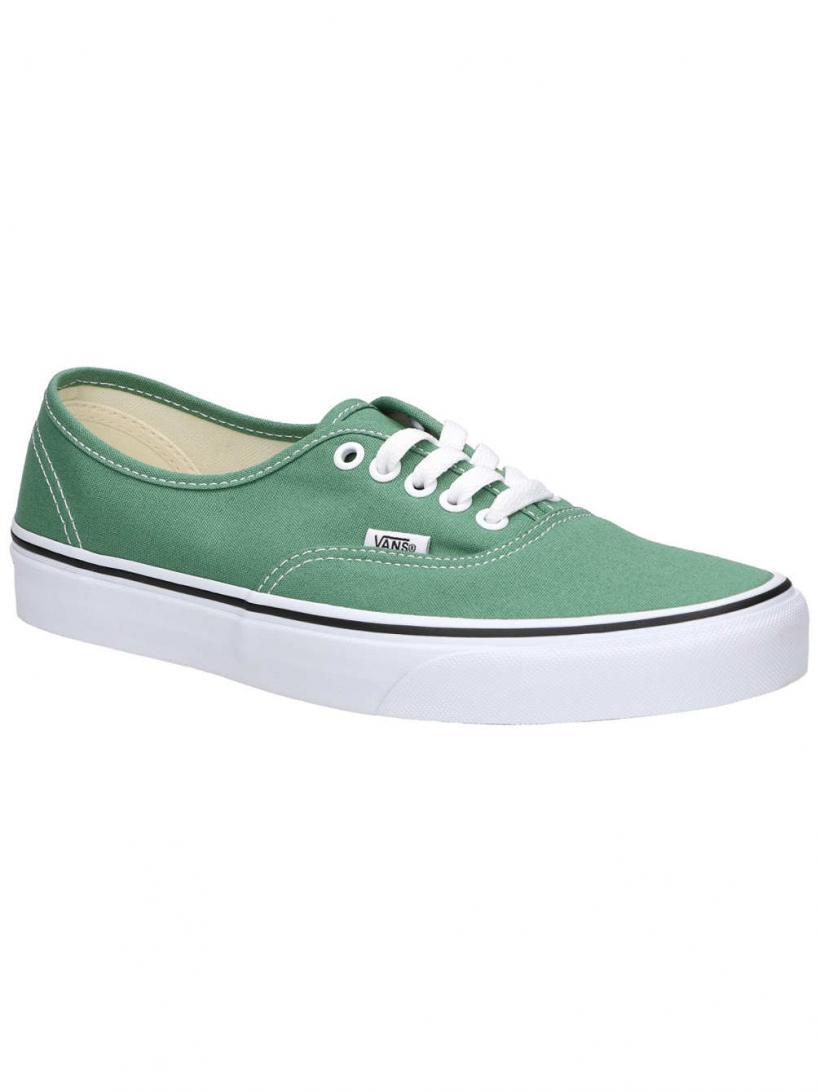 Vans Authentic Deep Grass Green/True Whi | Mens/Womens Sneakers