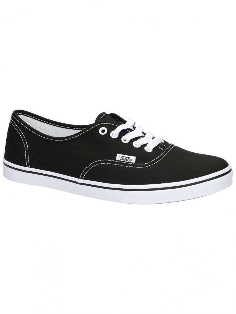 Vans Authentic Lo Pro Black/True White | Mens/Womens Sneakers