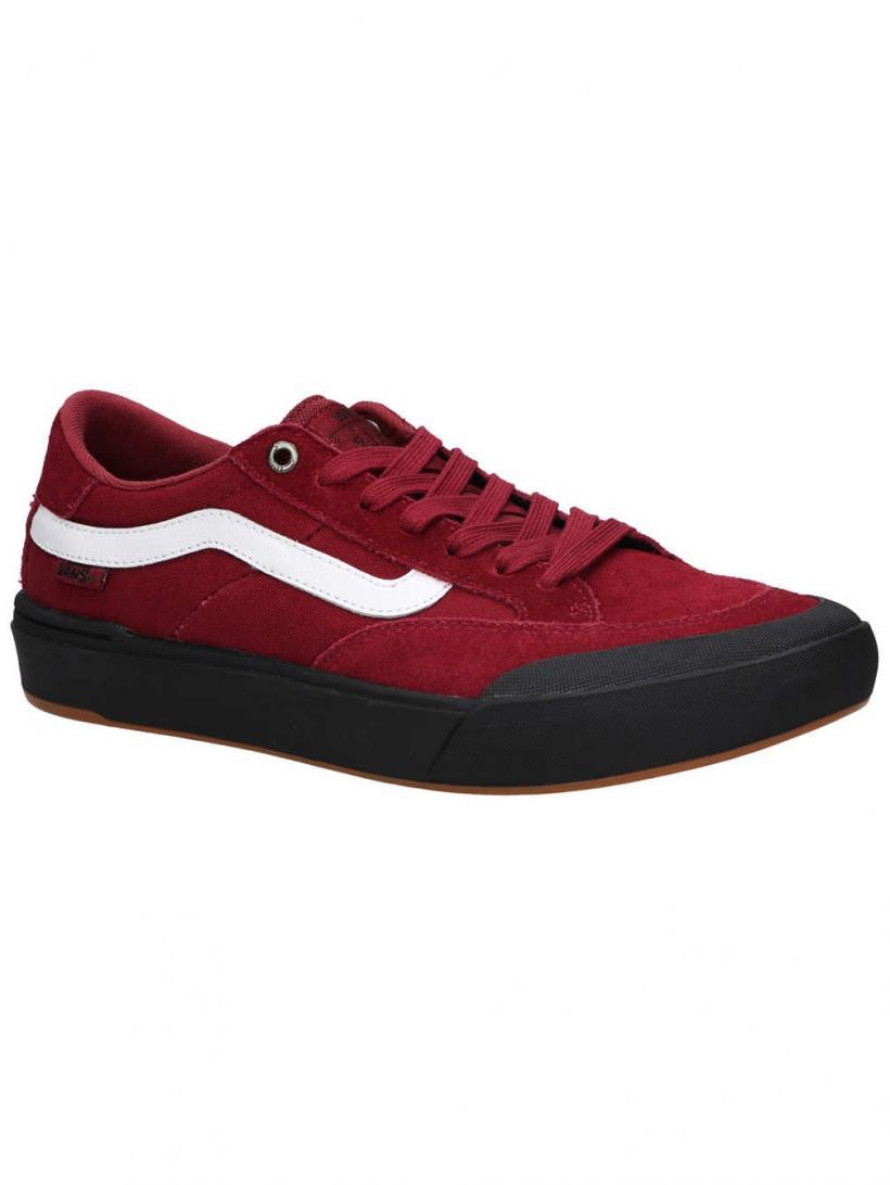 Vans Berle Pro Rumba Red | Mens Skate Shoes