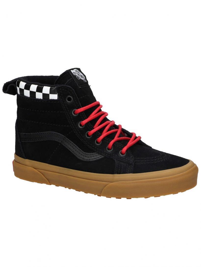 Vans Checkerboard MTE Sk8-Hi Checkerboard/Black | Mens Sneakers