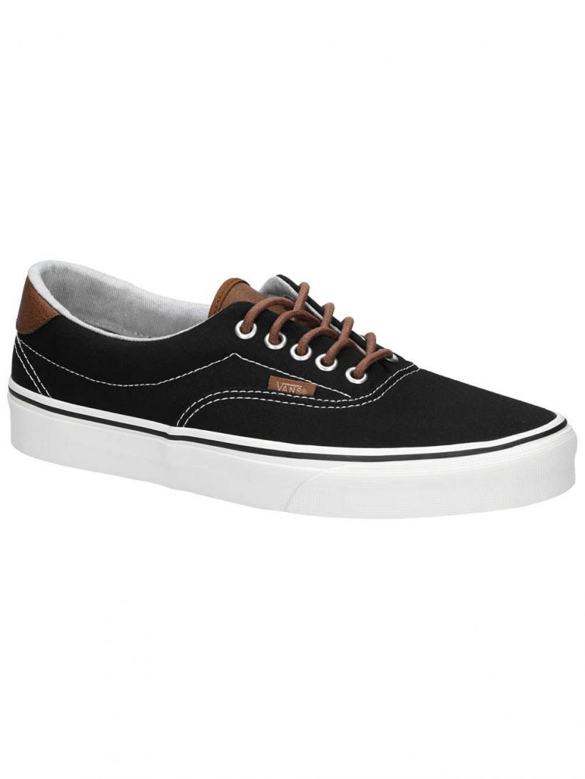 Vans C&L Era 59 Black/Acid Denim | Mens Sneakers
