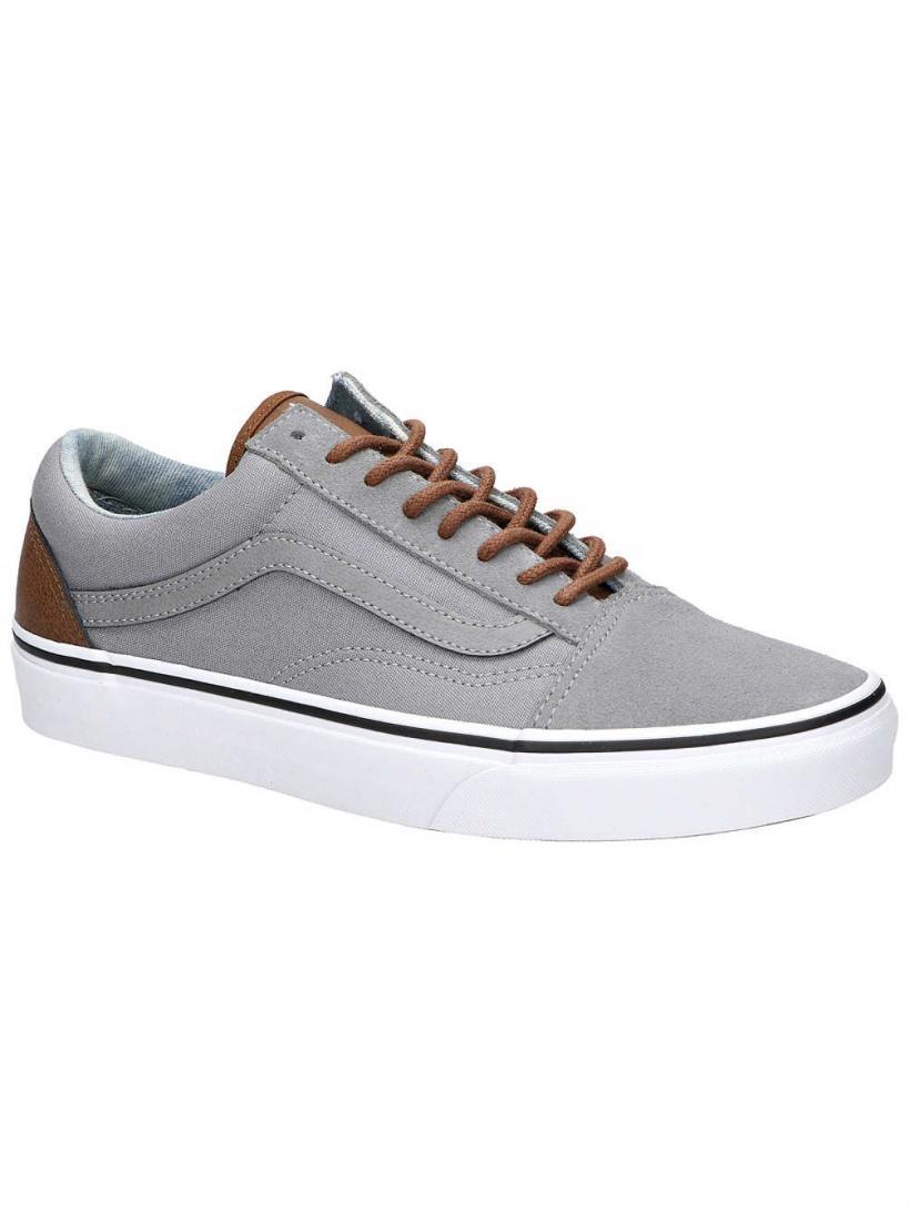 Vans C&L Old Skool Frost Gray/Acid Denim | Mens Sneakers