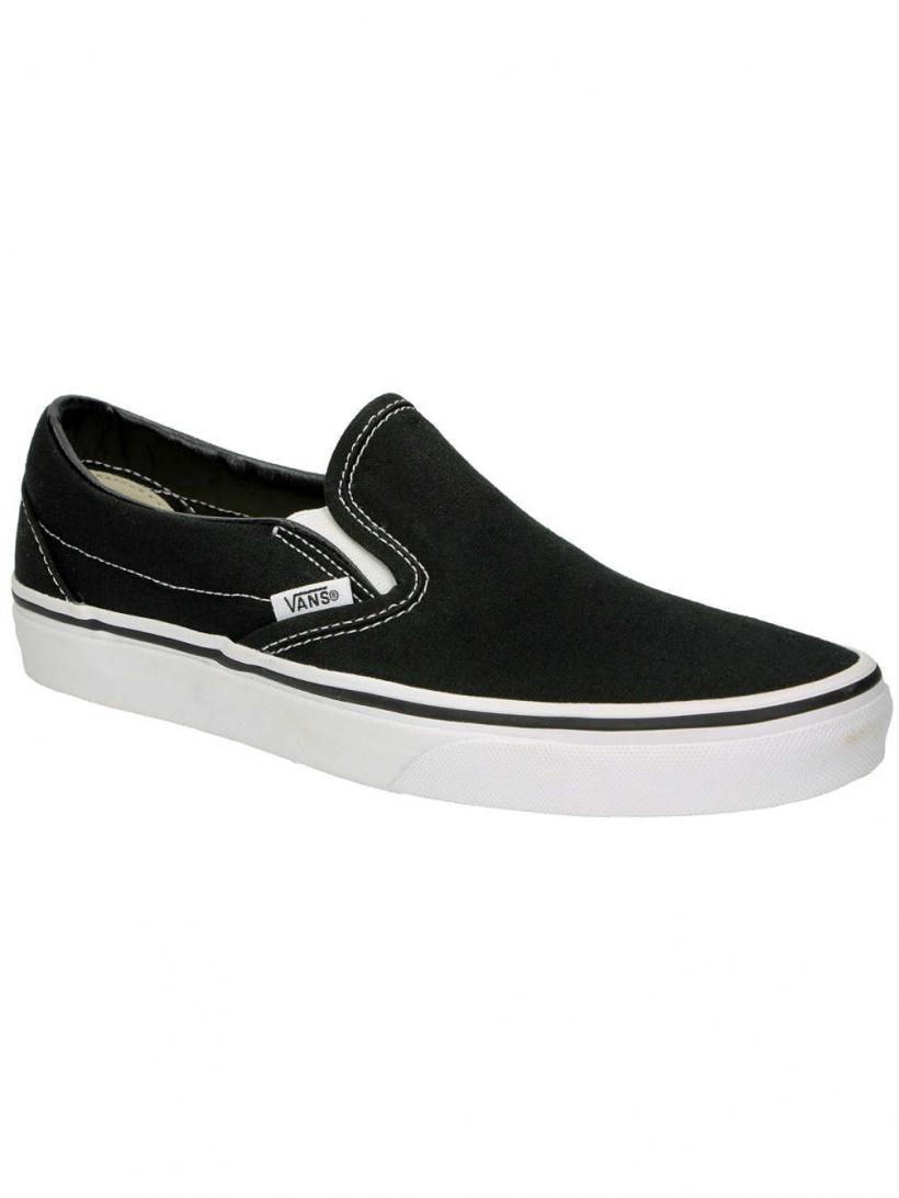 Vans Classic Slip-Ons Black | Mens/Womens Slip-Ons