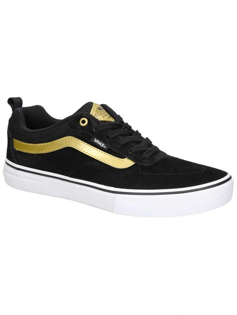 Vans Kyle Walker Pro Black/Metallic Gold   Mens Skate Shoes