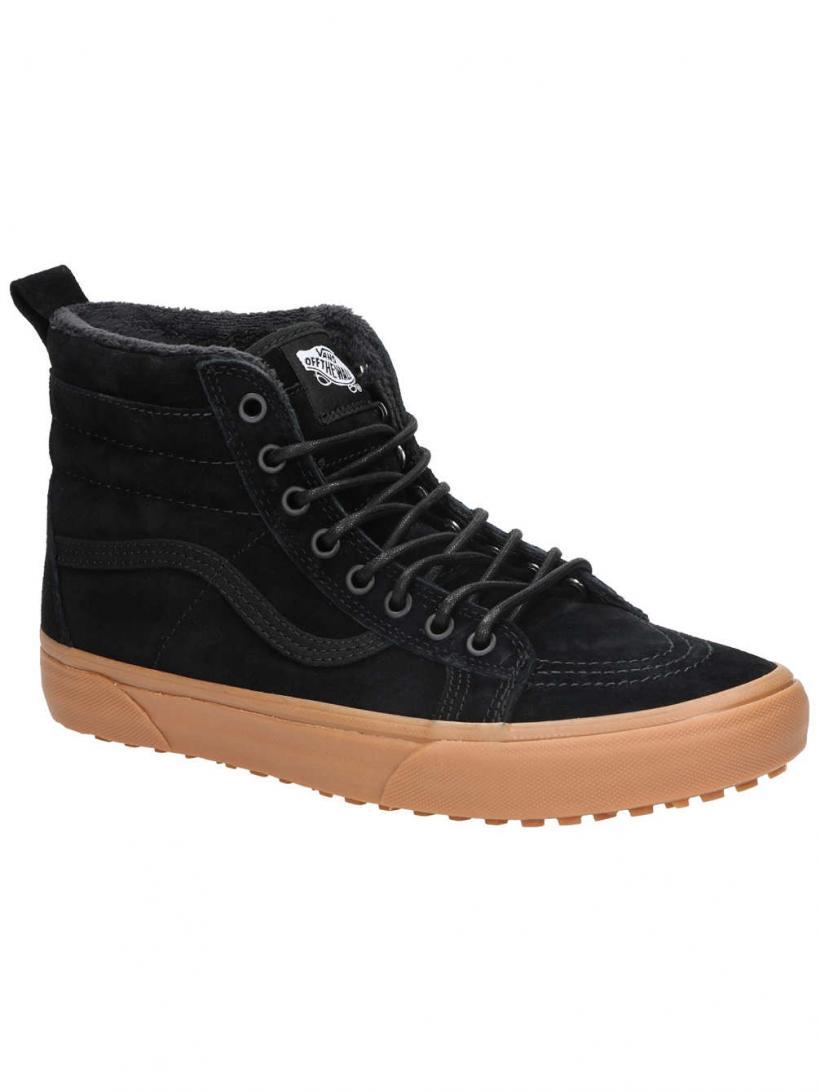 Vans MTE Sk8-Hi Black/Gum | Mens Winter Shoes