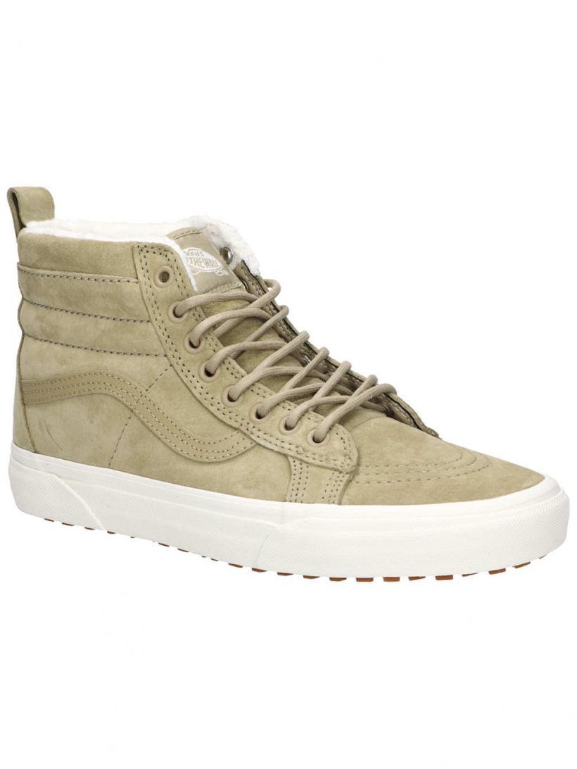 Vans MTE Sk8-Hi Cornstalk/Marshmallow | Mens/Womens Winter Shoes