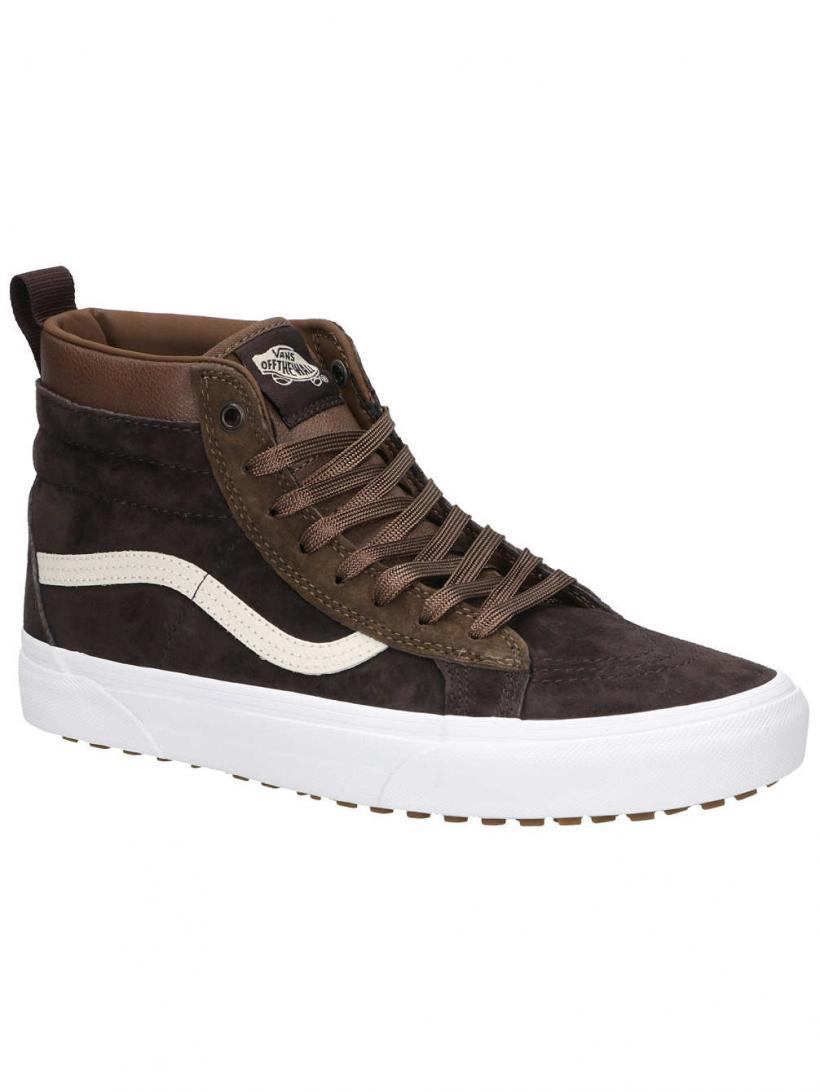 Vans MTE Sk8-HI Dark Earth/Seal Brown | Mens Winter Shoes