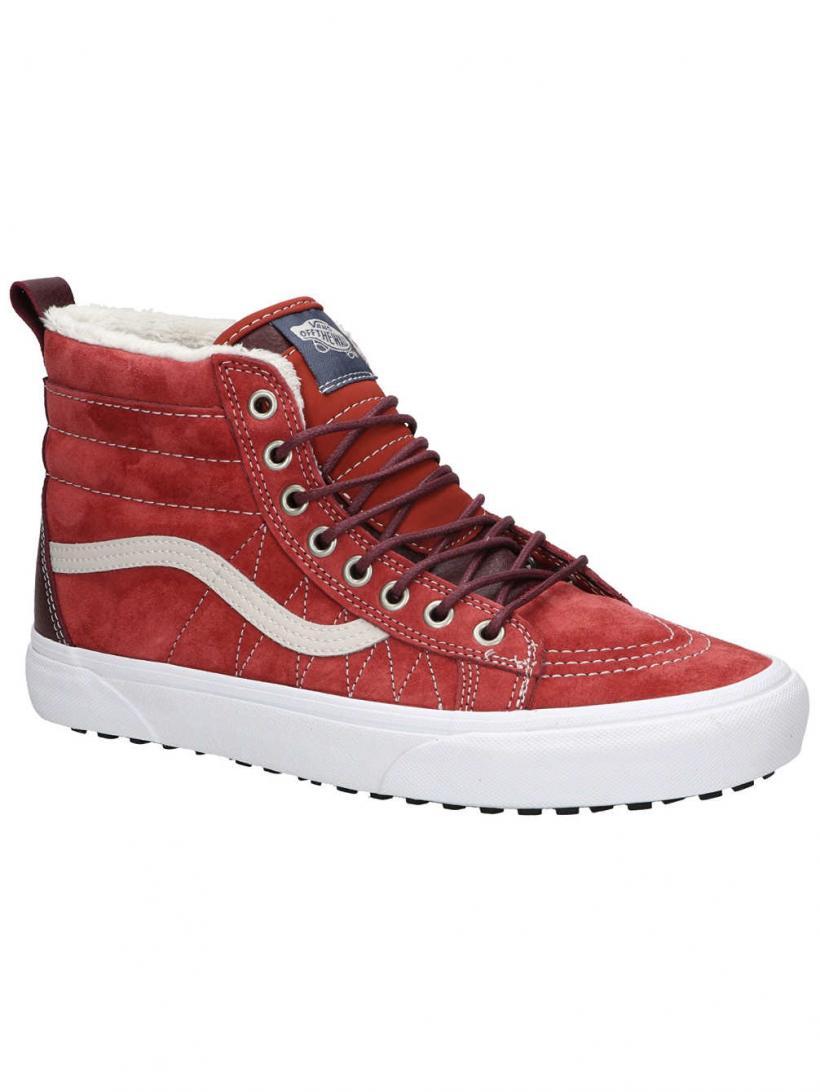 Vans MTE Sk8-Hi Hot Sauce/Port Roya | Mens/Womens Winter Shoes