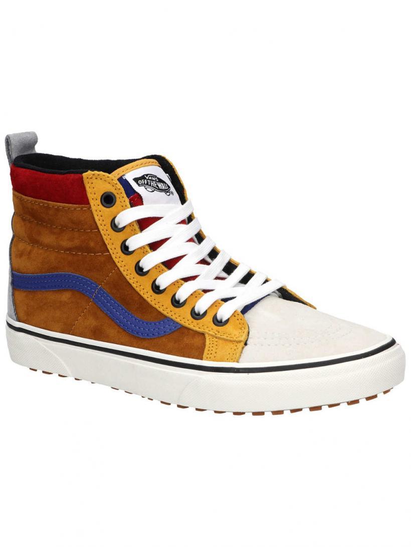 Vans MTE Sk8-Hi Sudan Brown/Mazarine Blue | Mens Winter Shoes