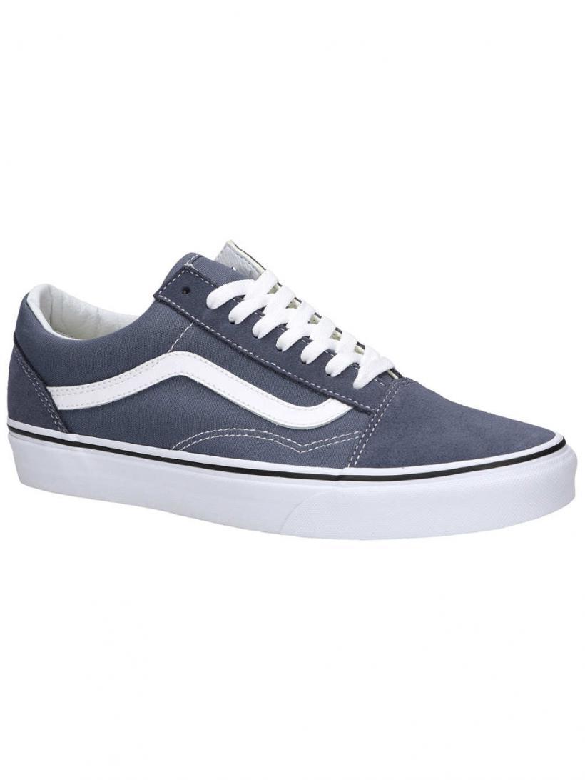 Vans Old Skool Grisaille/True White | Mens Sneakers