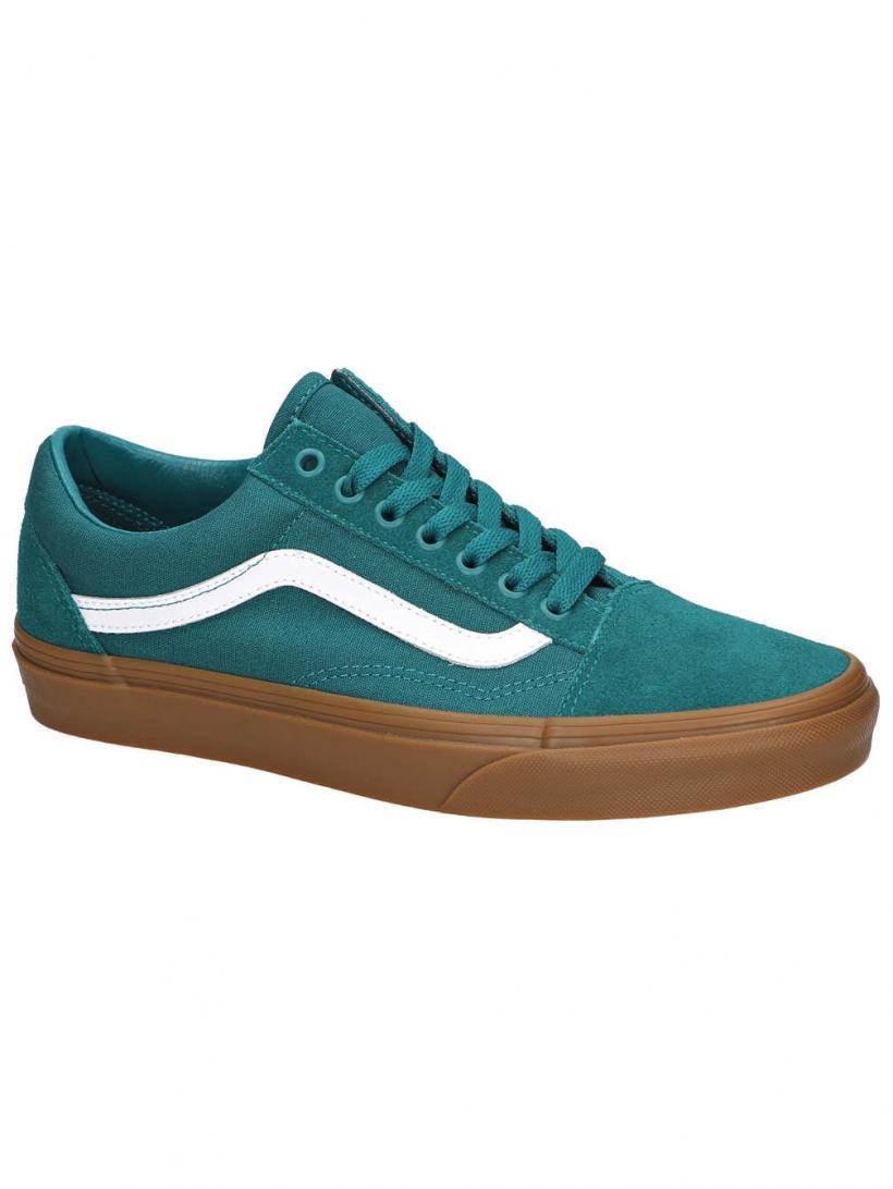 Vans Old Skool Quetzal Green/Gum | Mens Sneakers