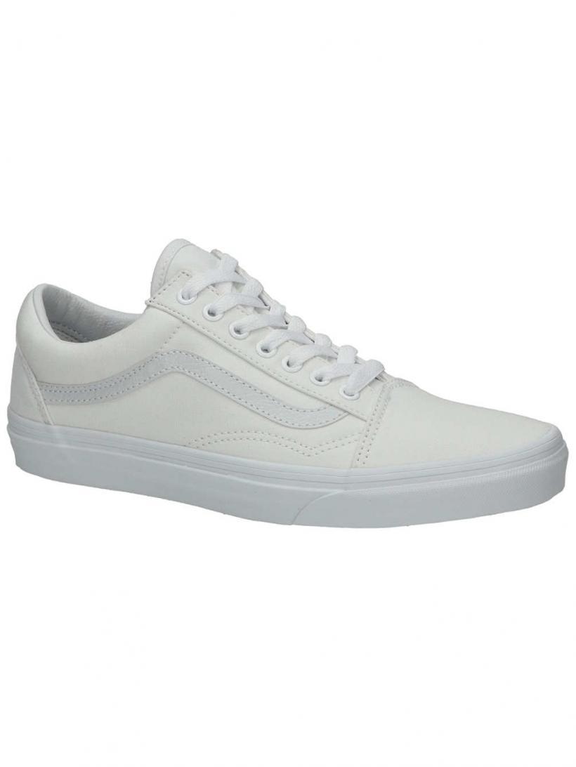 Vans Old Skool True White | Mens Sneakers