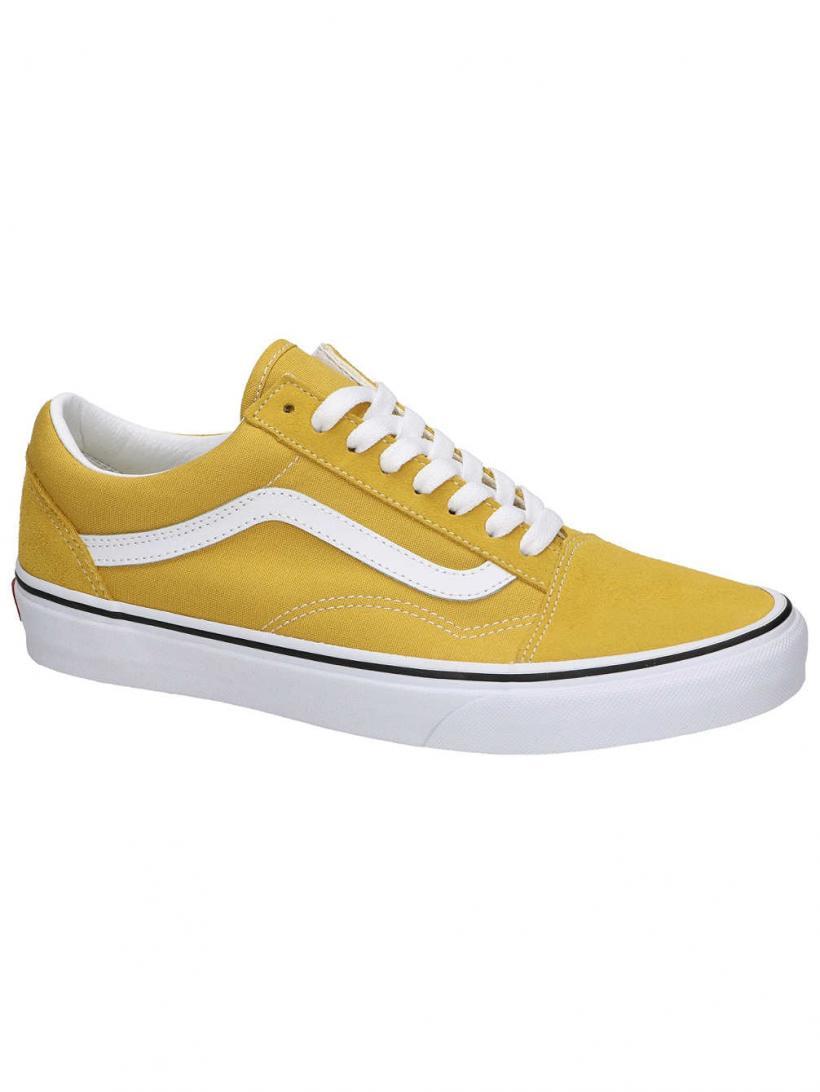 Vans Old Skool Yolk Yellow/True White | Mens/Womens Sneakers