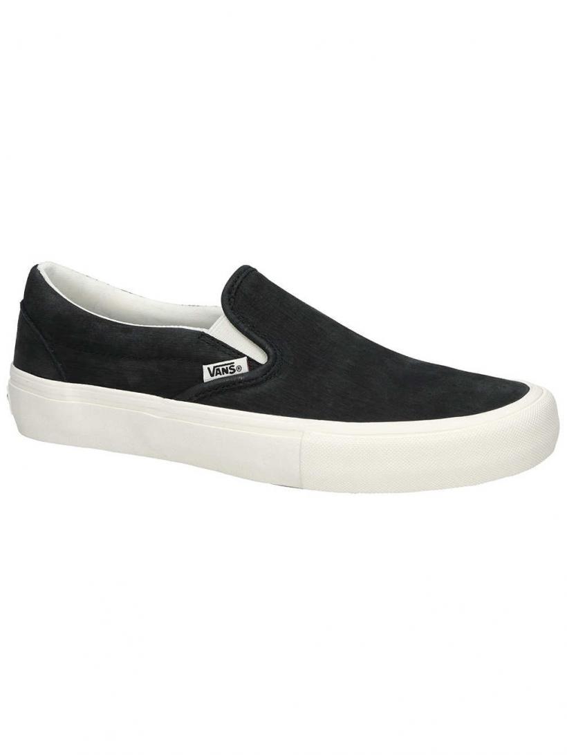 Vans Pfanner Slip-Ons Pro Slip-Ons Black/Marshmallow | Mens Slip-Ons