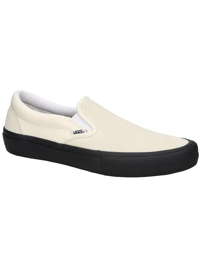 Vans Pro Slip-Ons Classic White/Black | Mens Slip-Ons