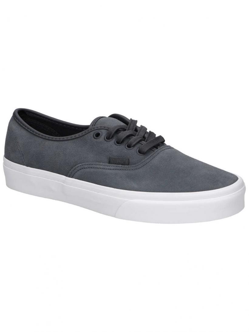Vans Soft Suede Authentic Ebony/True W | Mens Sneakers