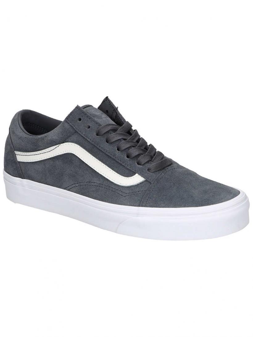 Vans Soft Suede Old Skool Ebony/True W | Mens Sneakers