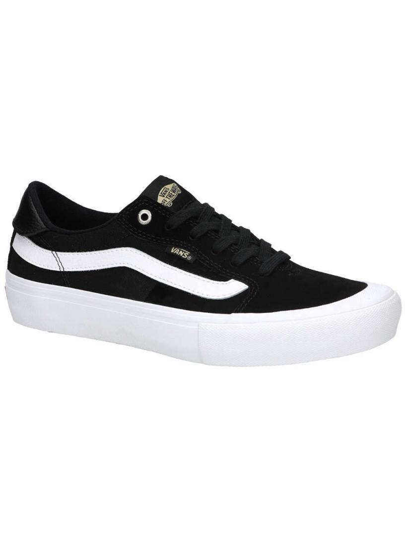 Vans Style 112 Pro Black/White/Khaki   Mens Skate Shoes