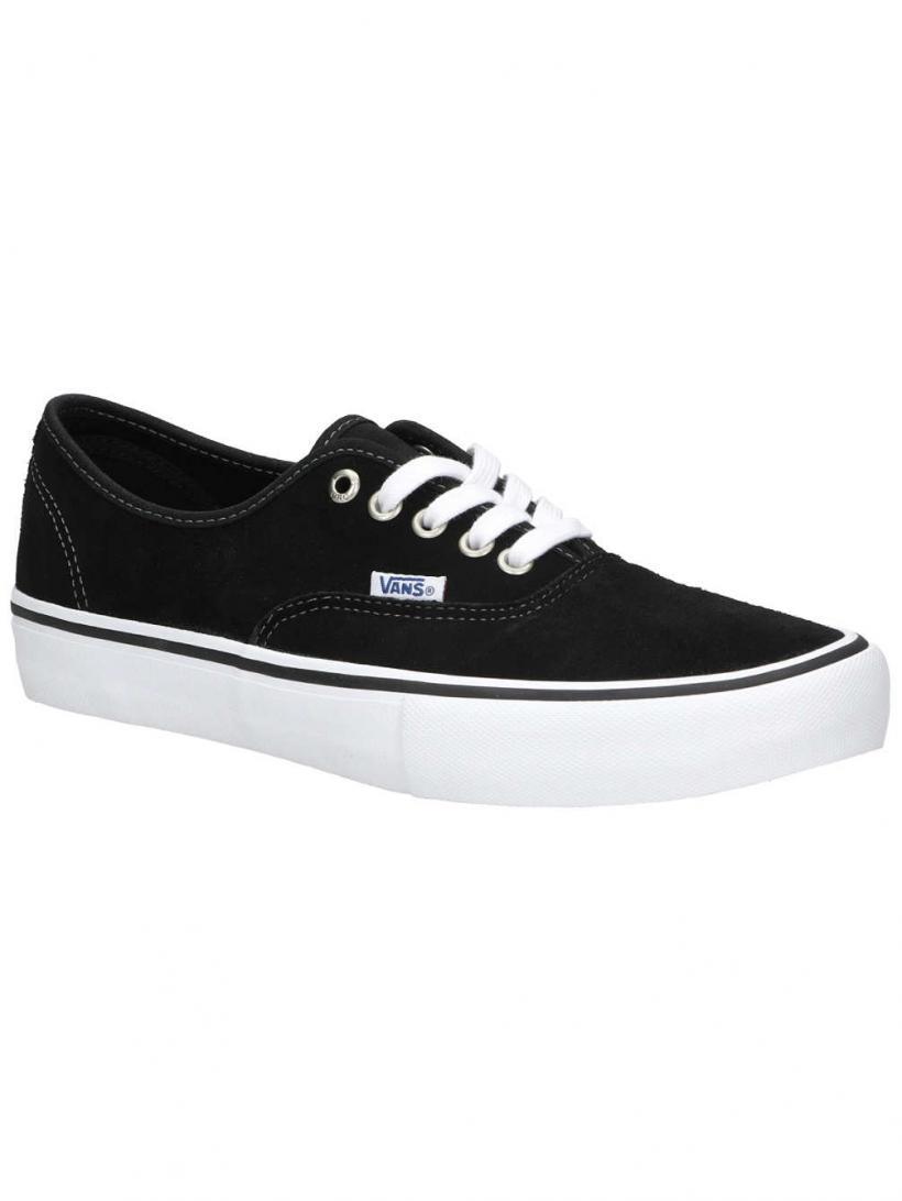 Vans Suede Authentic Pro Black | Mens Skate Shoes