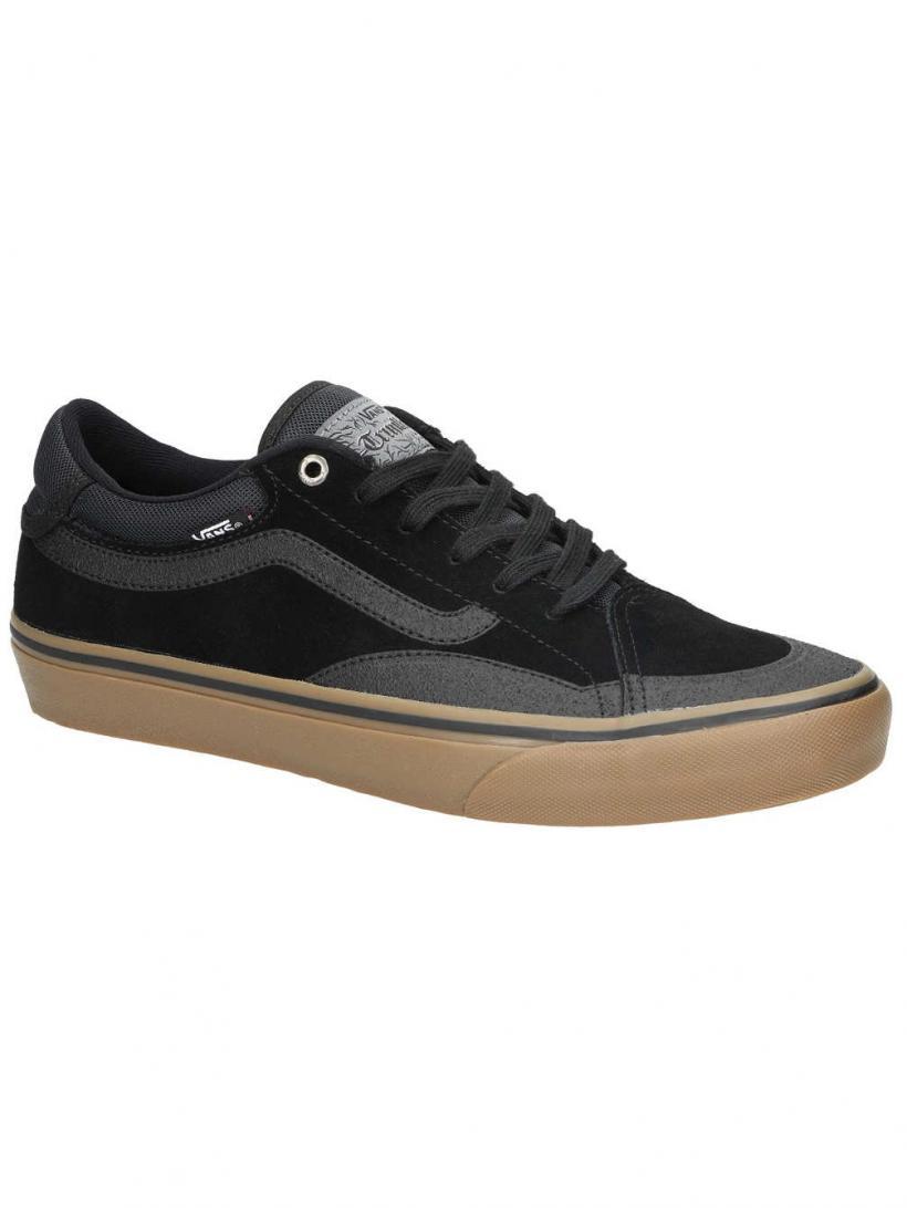 Vans TNT Advanced Prototype Black/Gum   Mens Skate Shoes
