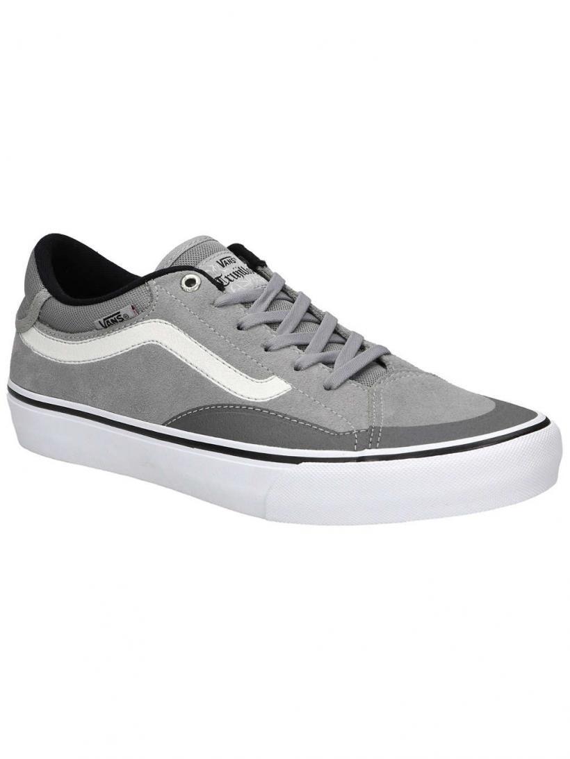 Vans TNT Advanced Prototype Drizzle/White   Mens Skate Shoes