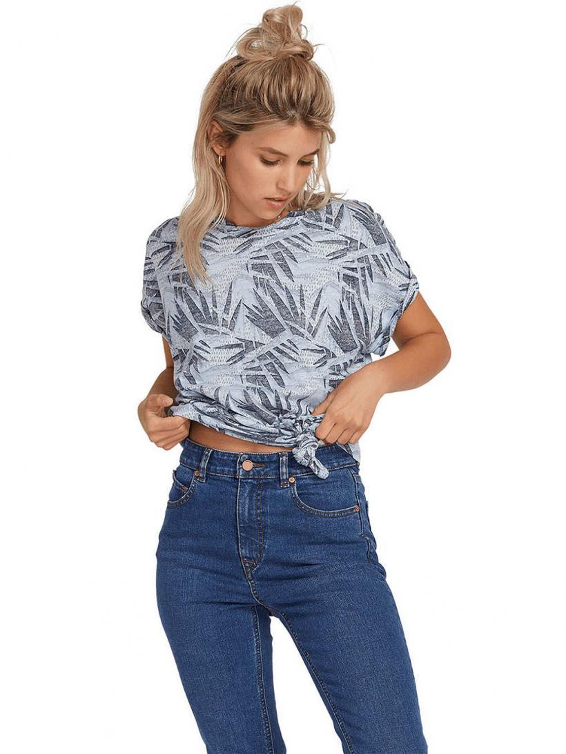 Volcom Breaknot T-Shirt Misty Blue | Mens/Womens T-Shirts