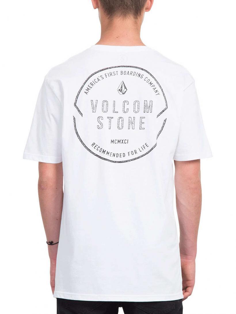 Volcom Chop Around Bsc T-Shirt White | Mens T-Shirts