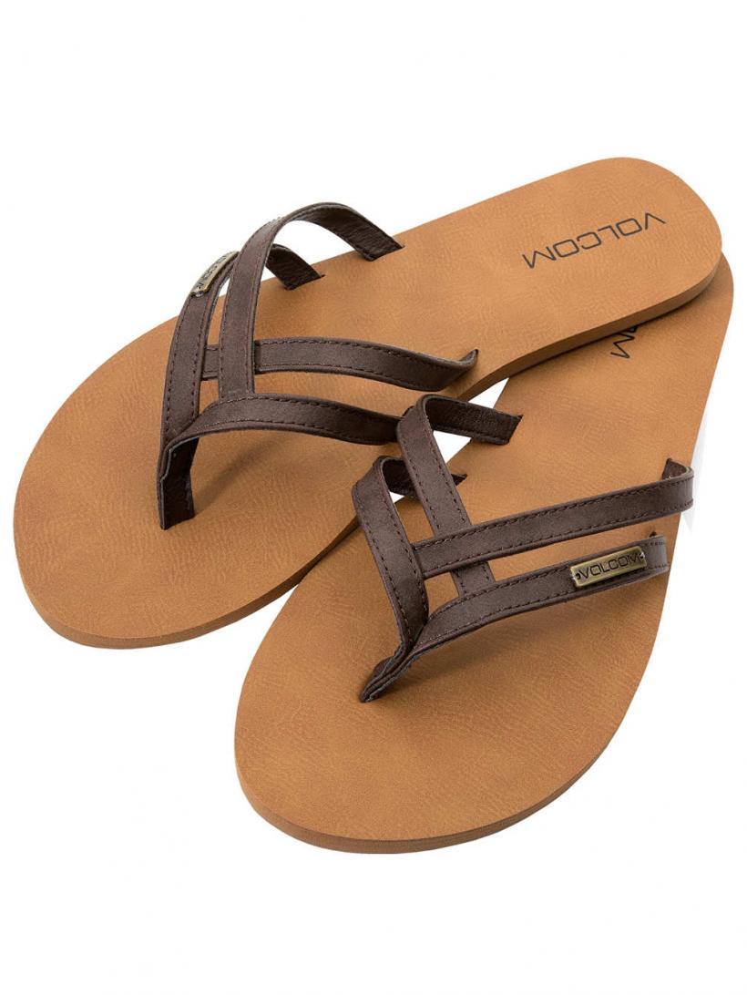 Volcom Crosstown Brown | Mens/Womens Sandals