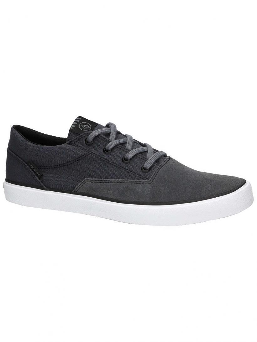 Volcom Draw LO Suede Grey Vintage | Mens Sneakers