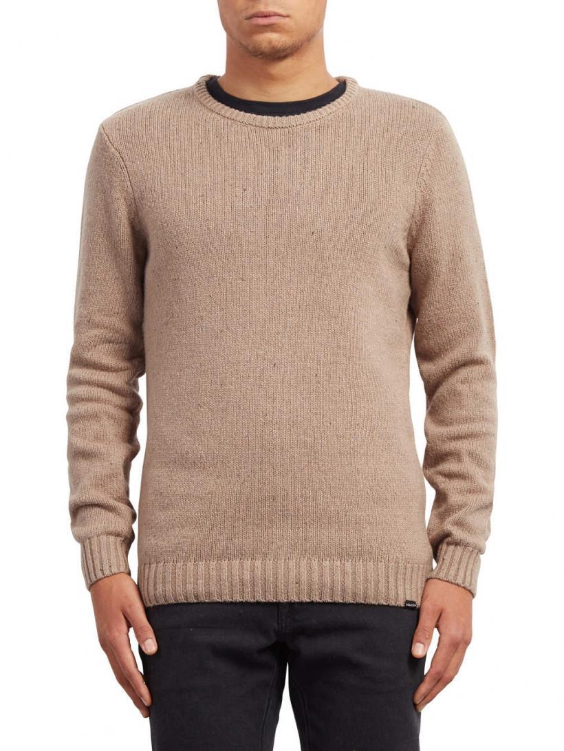 Volcom Edmonder Pullover Stealth | Mens Pullovers