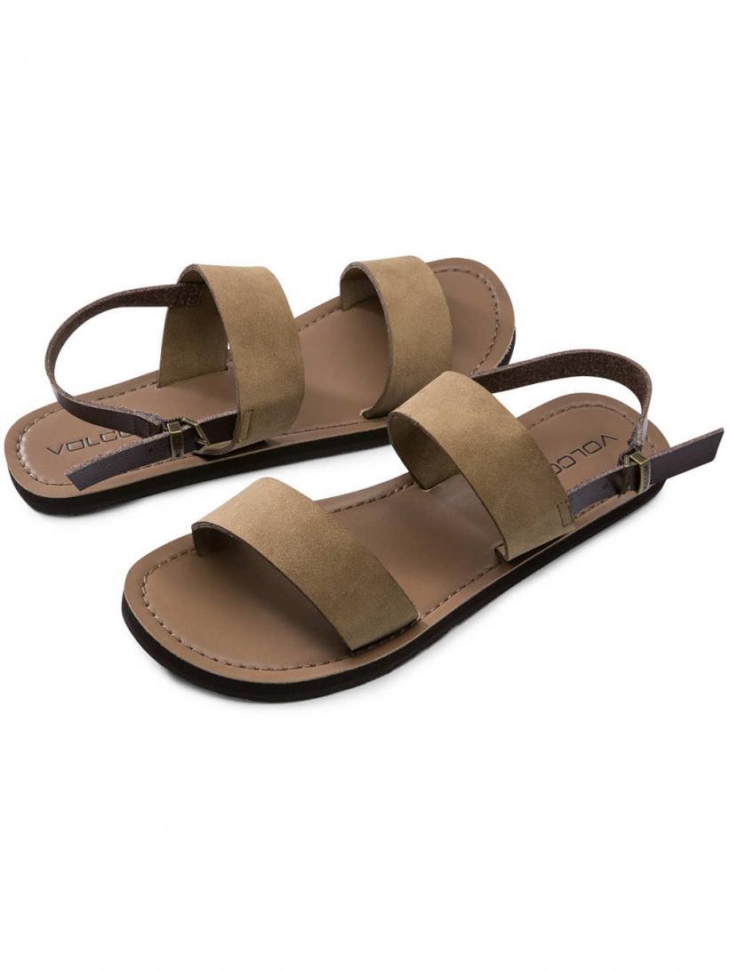 Volcom Stone Slide Caramel | Mens/Womens Sandals