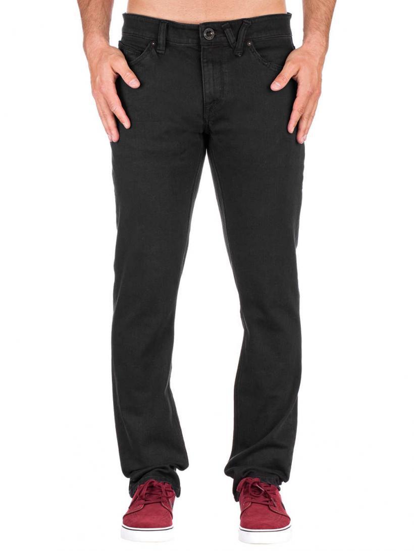 Volcom Vorta Jeans Ink Black | Mens Jeans