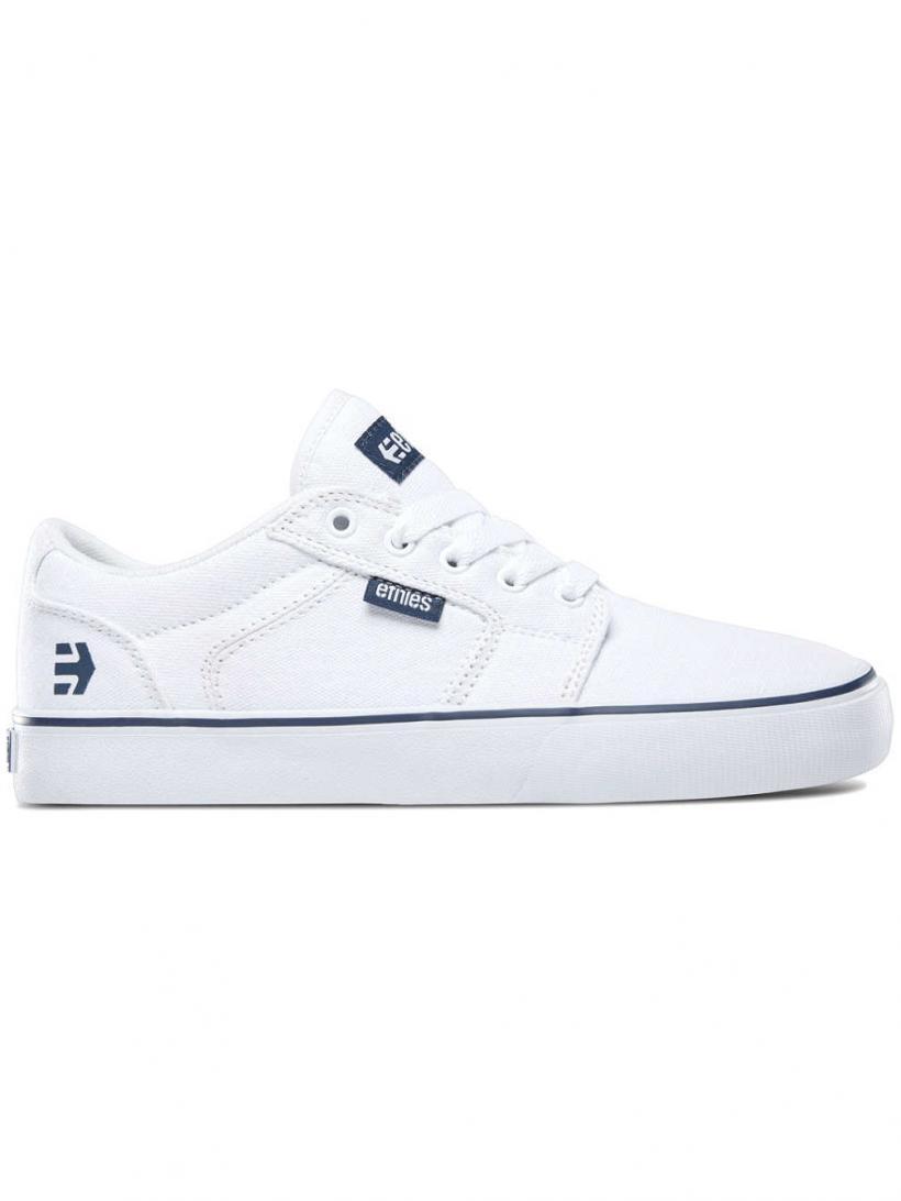 Etnies Barge LS White/Blue | Mens/Womens Sneakers