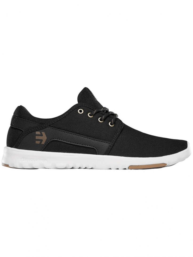 Etnies Scout Black/Bronze | Mens Sneakers