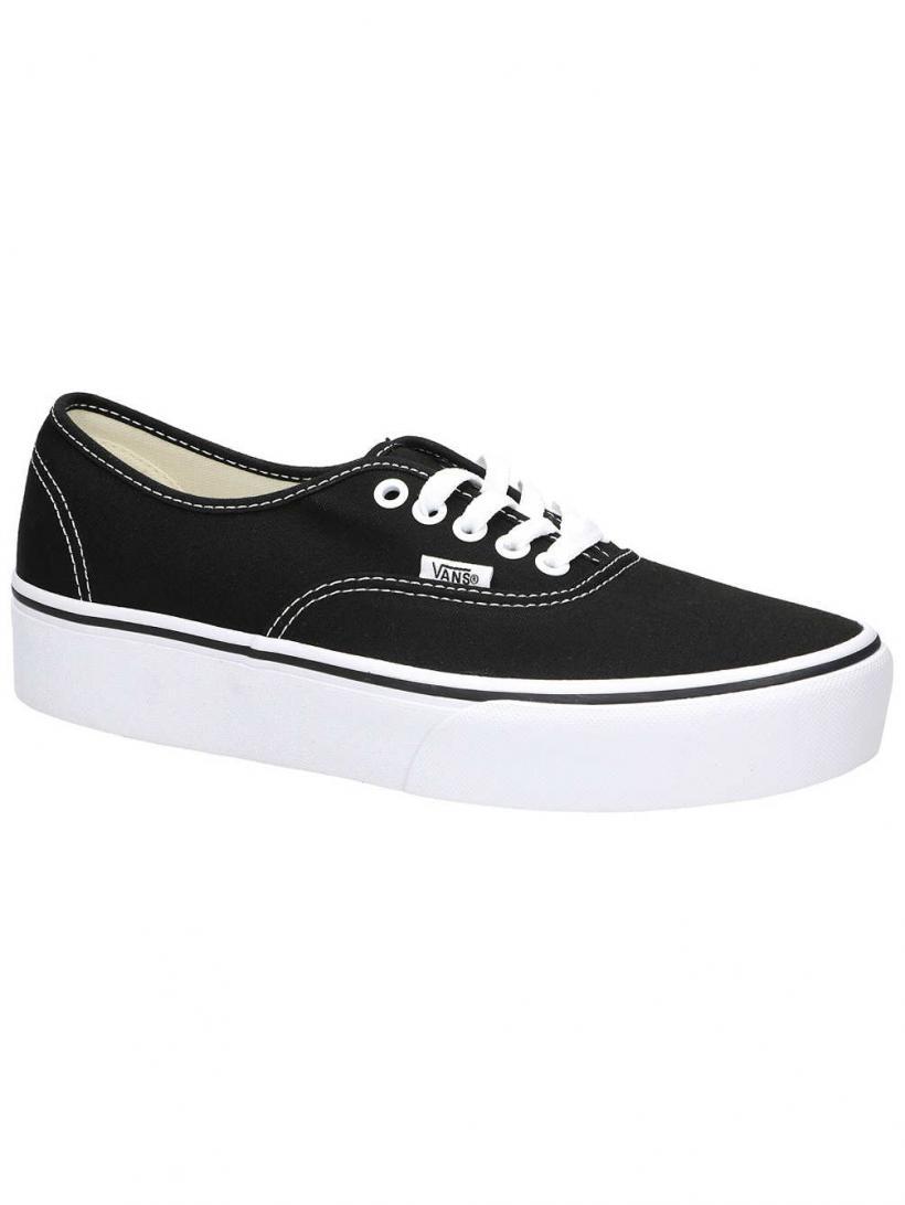 Vans Authentic Platform 2.0 Black | Mens/Womens Sneakers