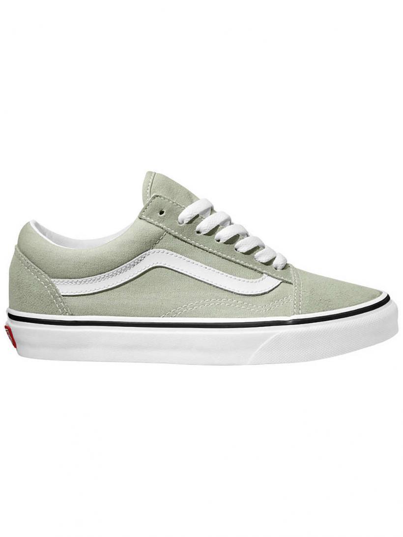 Vans Old Skool Desert Sage/True White | Mens/Womens Sneakers