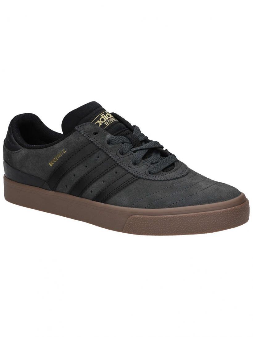 adidas Busenitz Vulc Dgh Solid Grey/Core Black | Mens Skate Shoes