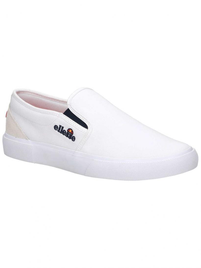 Ellesse Prazzo Slip-Ons White | Mens/Womens Slip-Ons