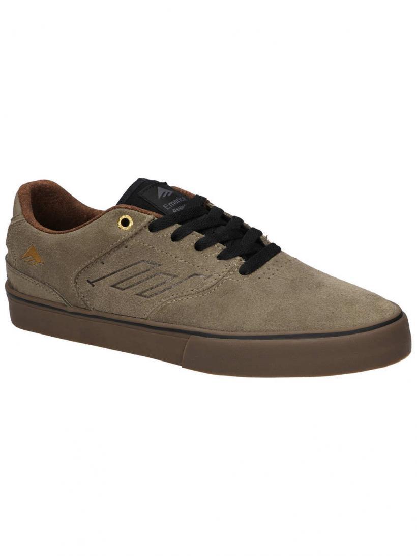 Emerica The Reynolds Low Vulc Tan | Mens Skate Shoes