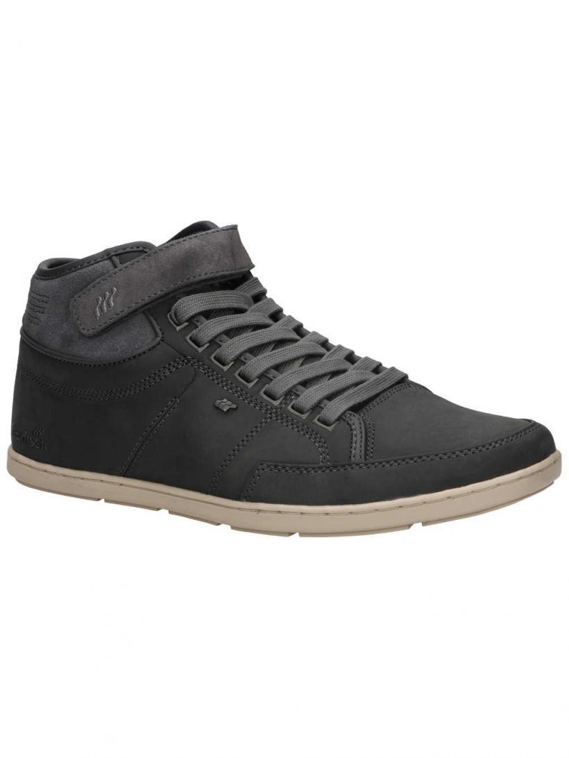 Boxfresh Swich Blok Charcoal Grey | Mens Winter Shoes