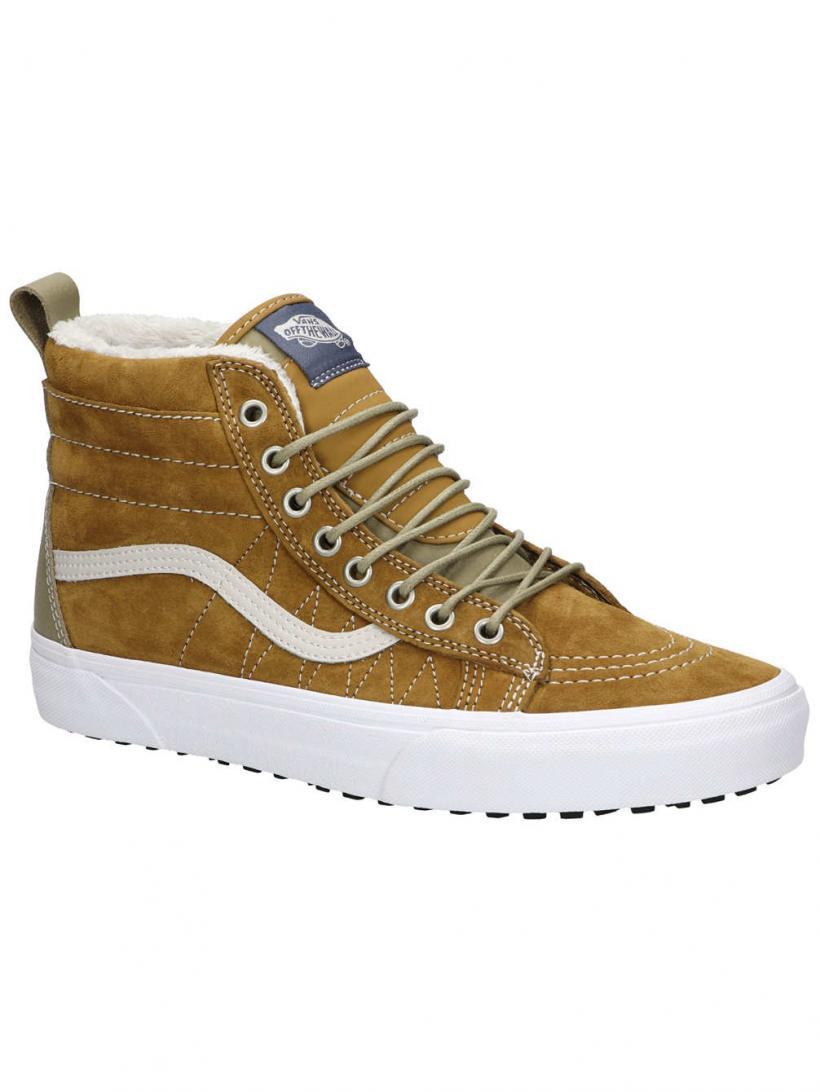 Vans MTE Sk8-Hi Cumin/Slate Green | Mens Winter Shoes