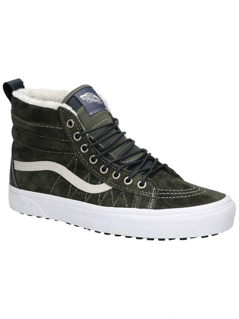 Vans MTE Sk8-Hi Dusty Olive/Darkest | Mens/Womens Winter Shoes