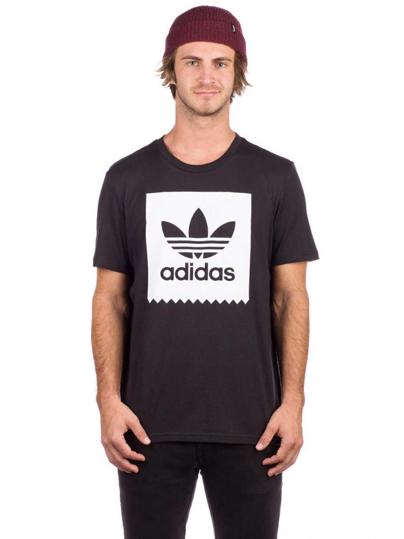 adidas Solid BB T-Shirt Black/White | Mens T-Shirts