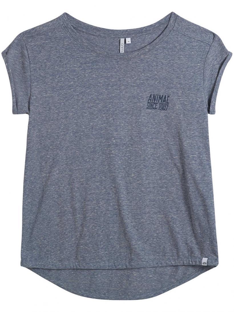 Animal Azinasa T-Shirt Grisaille Blue Marl | Mens/Womens T-Shirts
