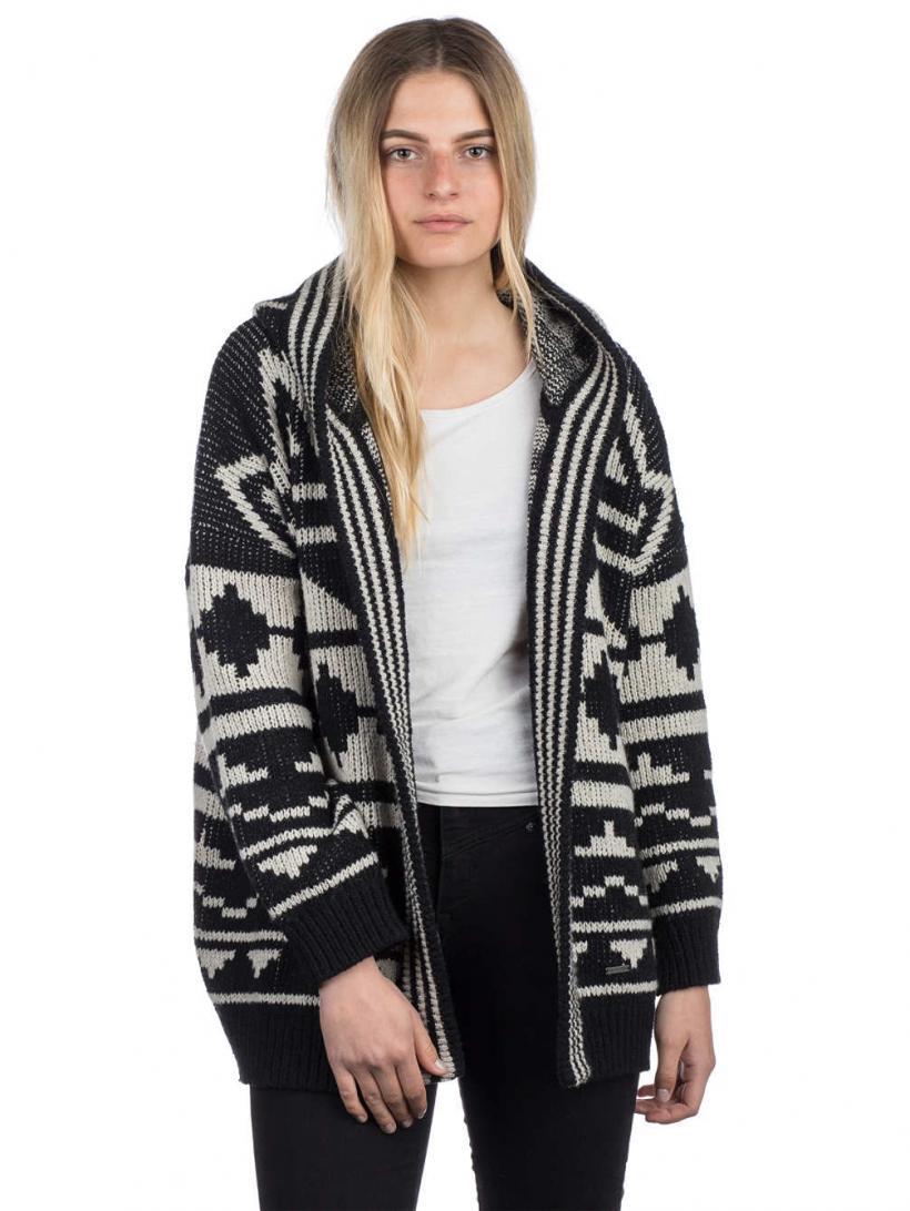 Billabong Just Look Pullover Black | Womens Pullovers